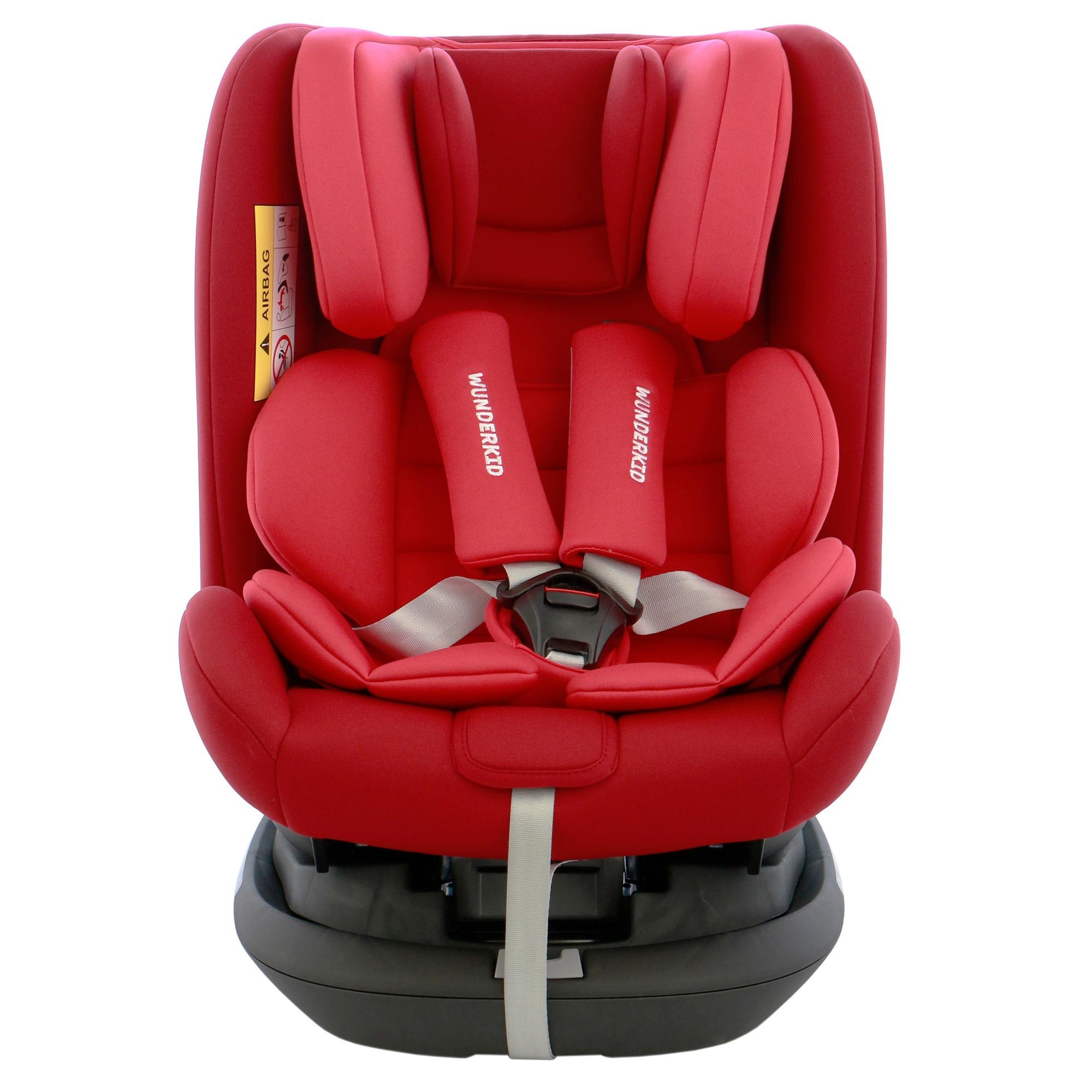 Fotografie Scaun auto ISOFIX, rotativ 360, Wunderkid Miami, 0-36 kg, Rosu