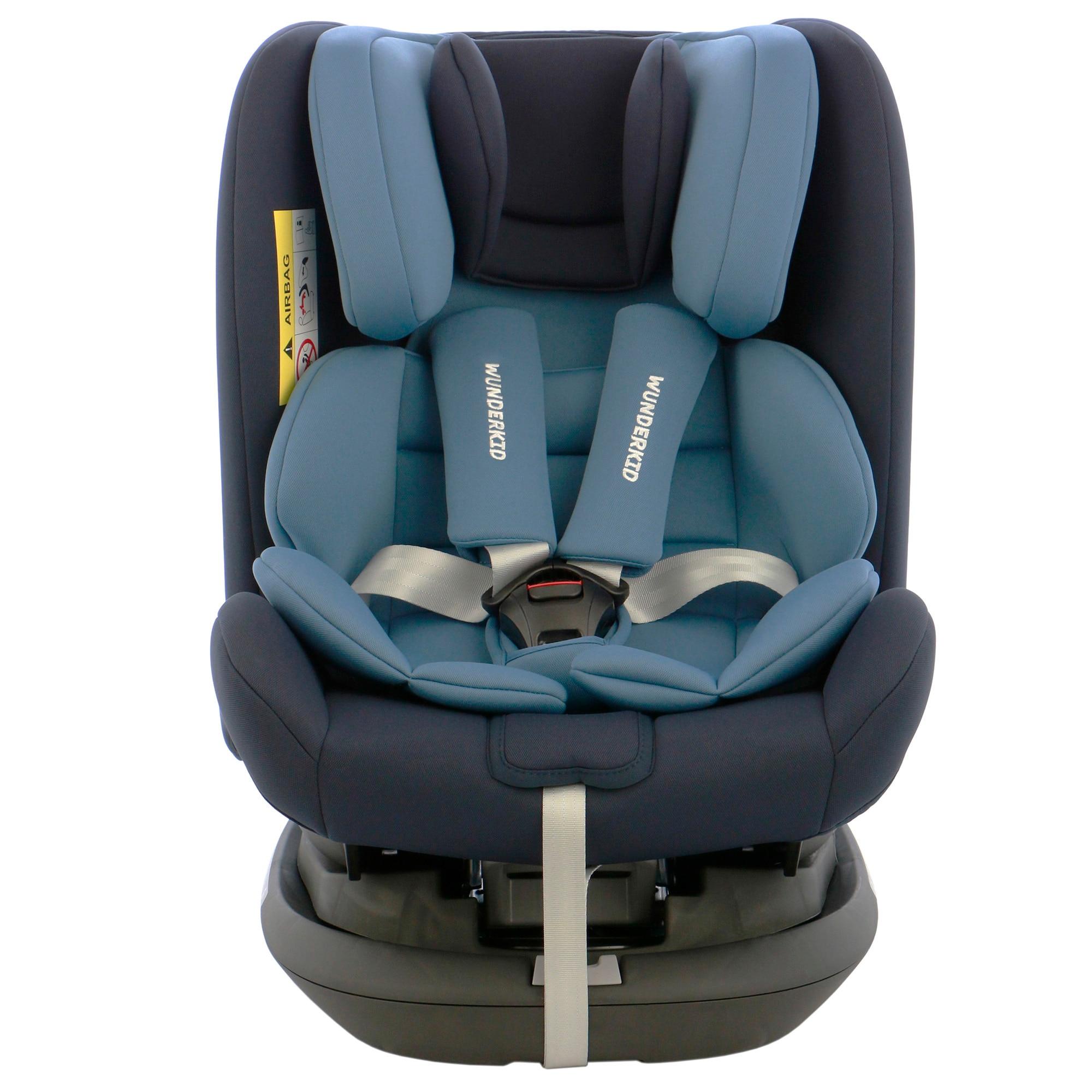 Fotografie Scaun auto ISOFIX, rotativ 360, Wunderkid Miami, 0-36 kg, Albastru