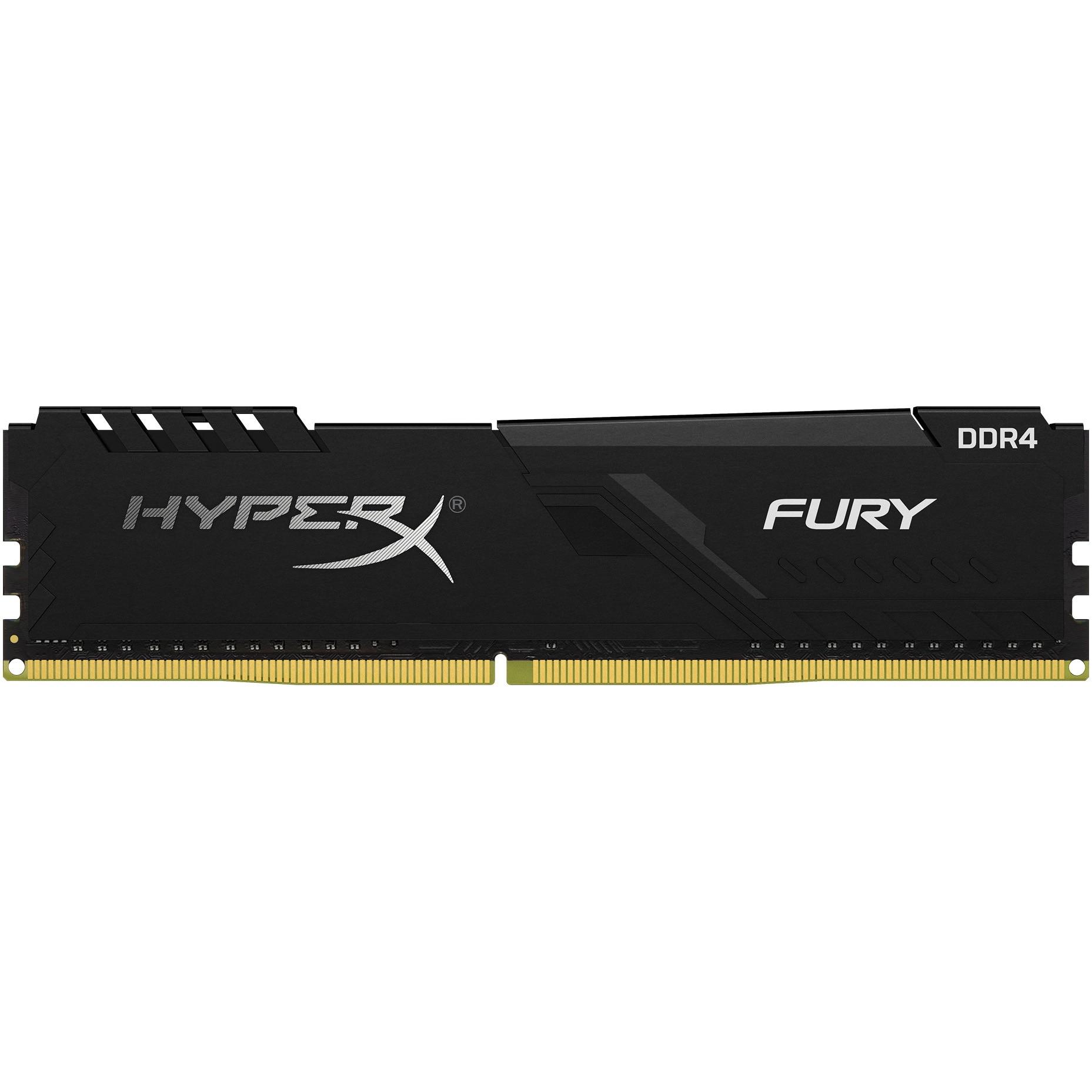 Fotografie Memorie HyperX Fury, 16GB DDR4, 2666MHz CL16