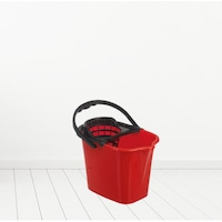 Felmosó vödör TS001-R,Piros