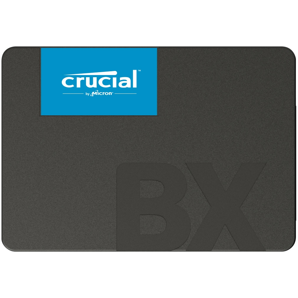 """Fotografie Solid-State Drive (SSD) Crucial BX500, 2TB, 3D NAND, 2.5"""", SATA-III"""