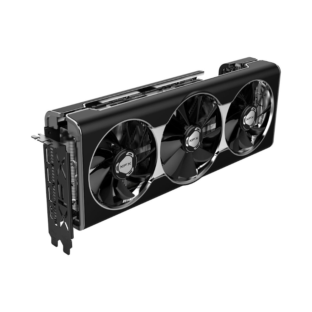 Fotografie Placa video XFX Radeon RX 5700 XT THICC III Ultra, 8GB GDDR6, 256-bit