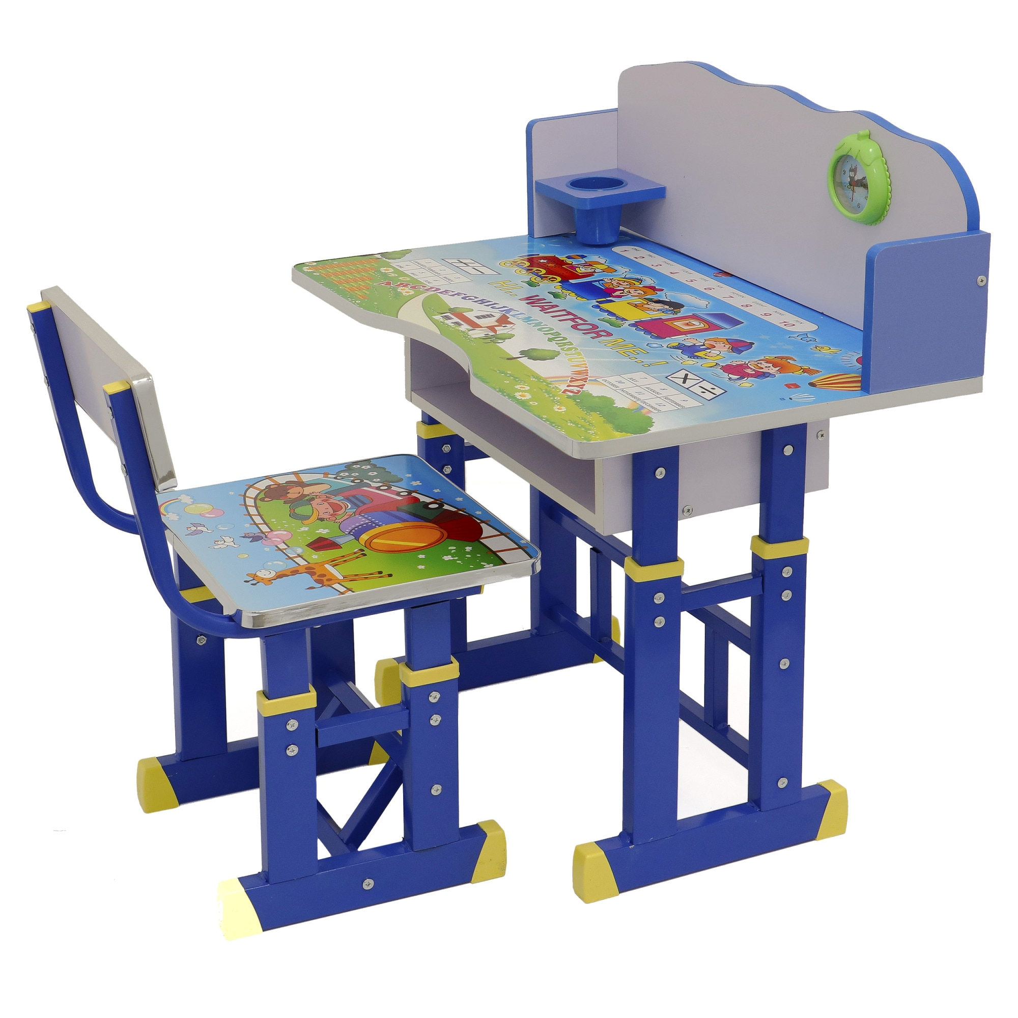 Fotografie Set birou Mappy cu scaun, Albastru