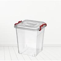 Átlátszó, műanyag tároló doboz, 20L KB005
