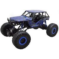 Rock Crawler HB-P1002 1:10 Off Road Buggy óriás szikla mászó autó 4WD 15km/h 3.1kg 41cm RC távirányítós autó (15 km/h HB P1002) - kék
