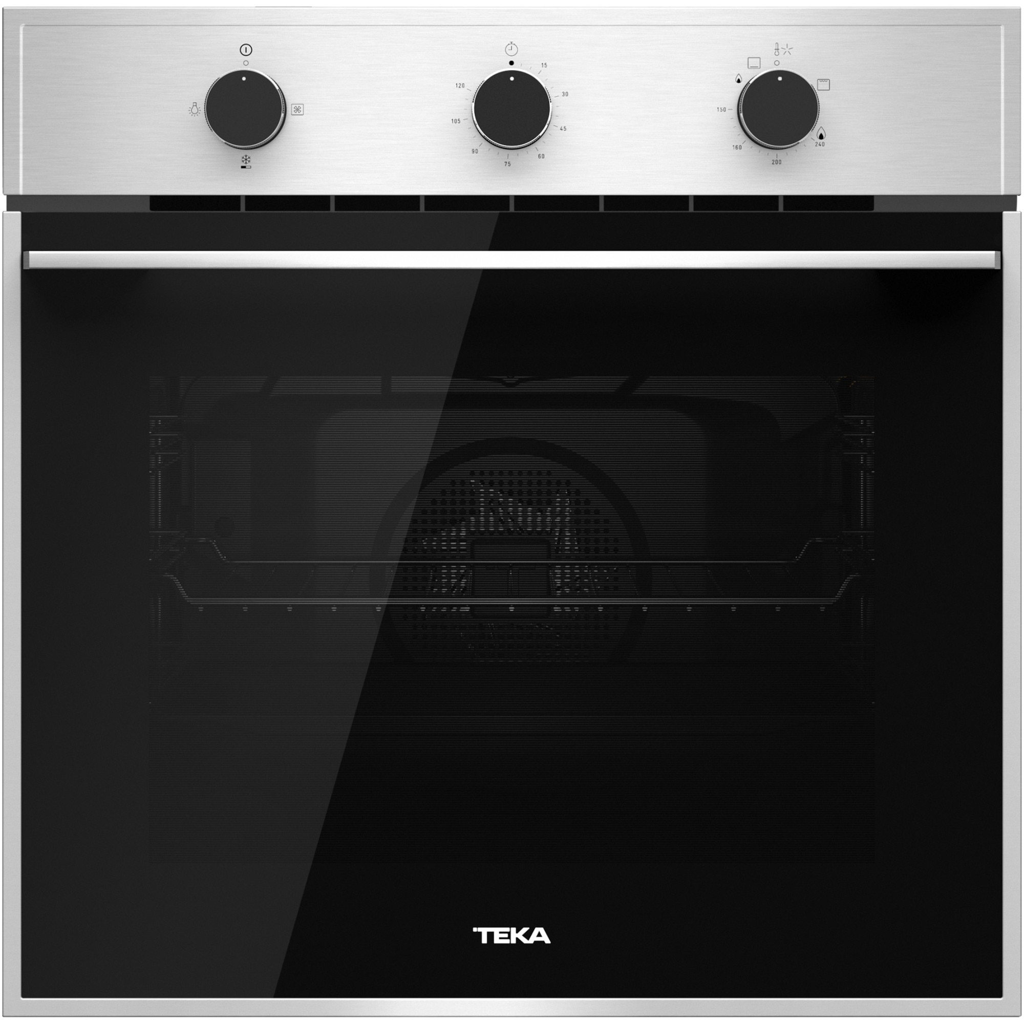 Fotografie Cuptor incorporabil TEKA HSB 740G, Gaz, 60 L, Grill, HydroClean, Inox