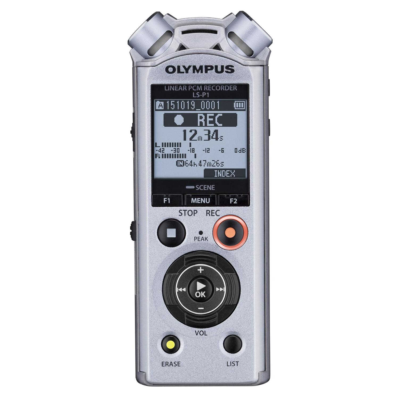 Fotografie Reportofon PCM Olympus LS-P1, liniar