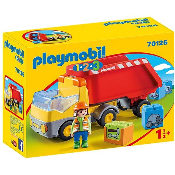 Fotografie Playmobil 1.2.3 - Basculanta Rosie