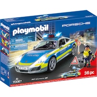 Playmobil City Action - Porsche 911 Carrera 4S, Полиция