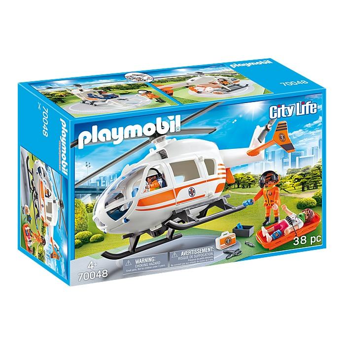 Fotografie Playmobil City Life, Rescue - Elicopter de salvare