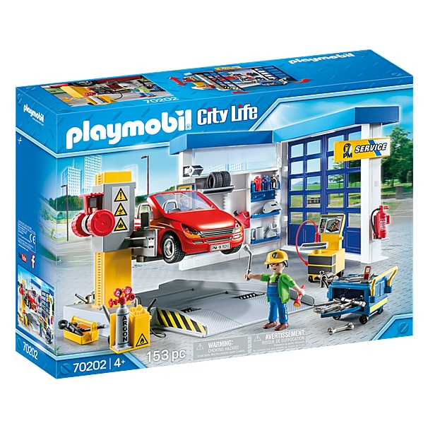 Fotografie Playmobil City Life, Vehicles - Service auto