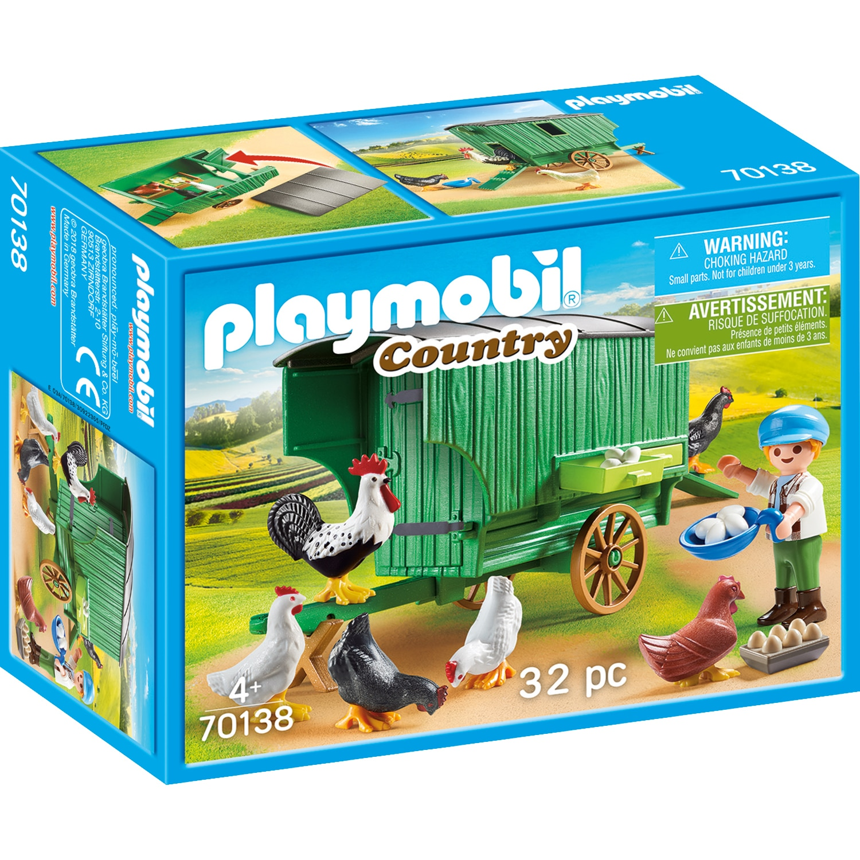 Fotografie Playmobil Country, Farm Fun - Cotet cu gaini