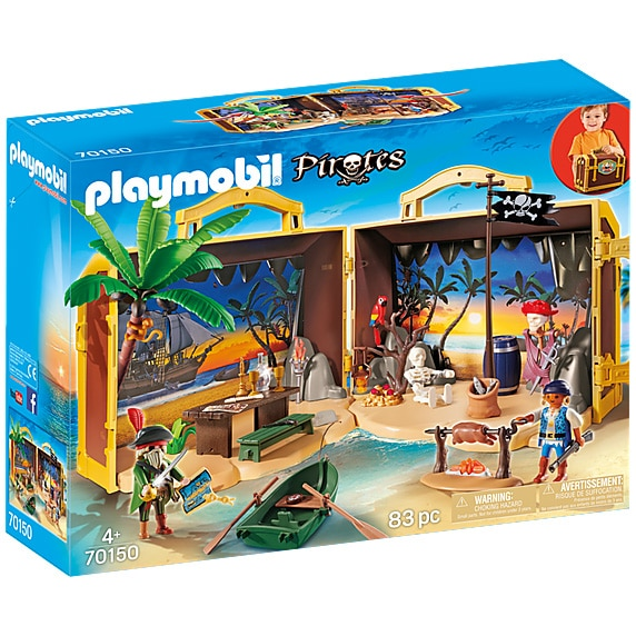 Fotografie Playmobil Pirates - Set mobil insula aurie a piratilor