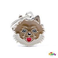 Медальон Pomeranian My Family, M