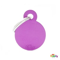 Медальон Purple Small Circle Alum My Family, S