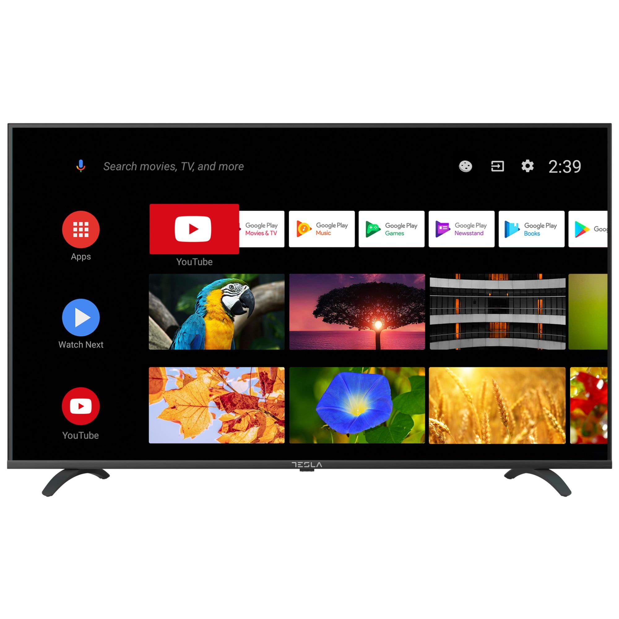 Fotografie Televizor Tesla, 43S605BFS, 109 cm, Smart Android, Full HD, LED, Clasa E