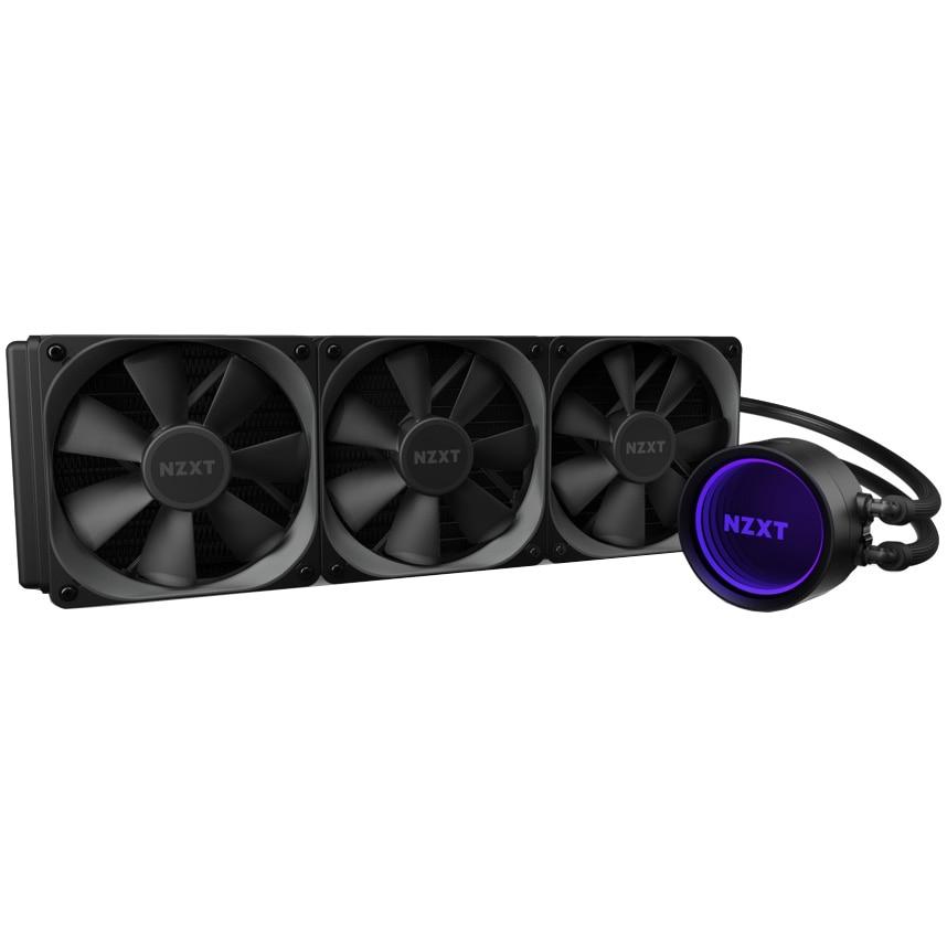 Fotografie Cooler procesor NZXT Kraken X73, compatibil AMD/Intel