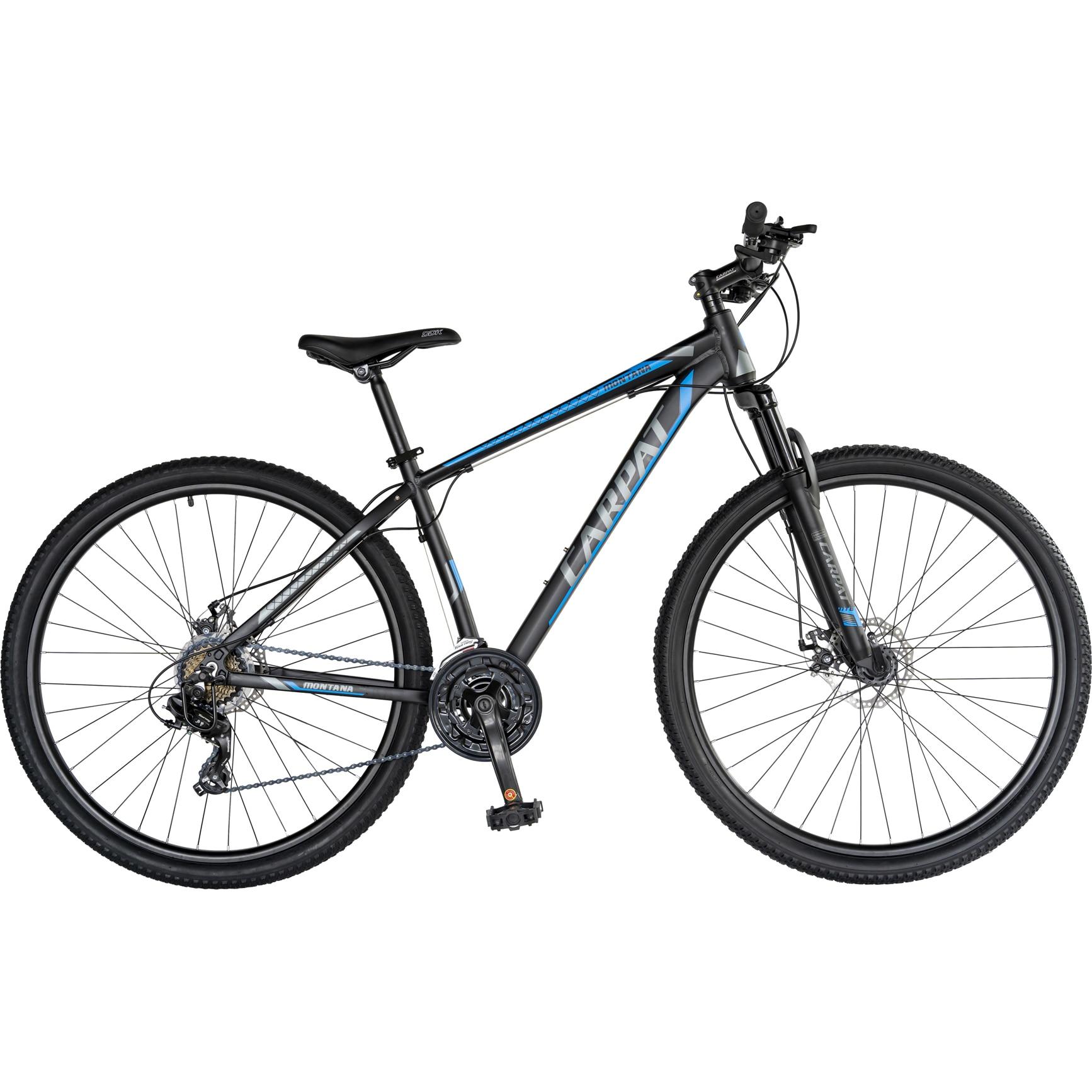 "Fotografie Bicicleta MTB 29"" Carpat C2970C, Negru/Albastru"