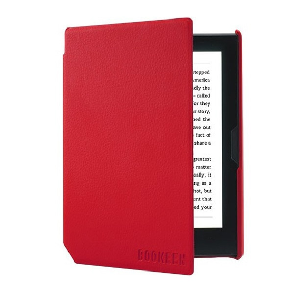 Fotografie Husa eBook Reader Bookeen Cybook, Muse Red Vermillon