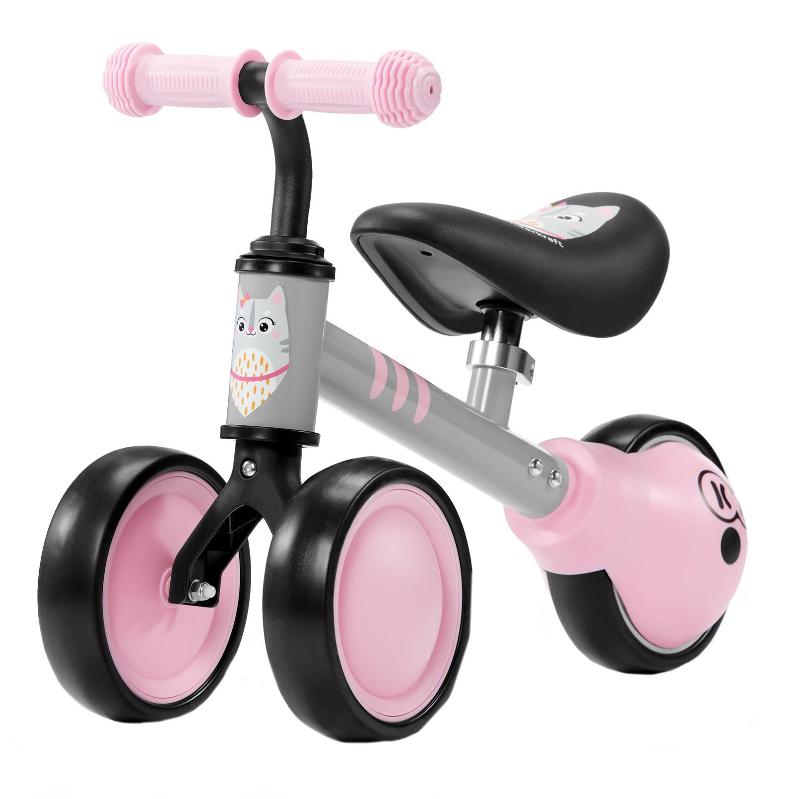 Fotografie Tricicleta fara pedale Kinderkraft - Cutie, roz