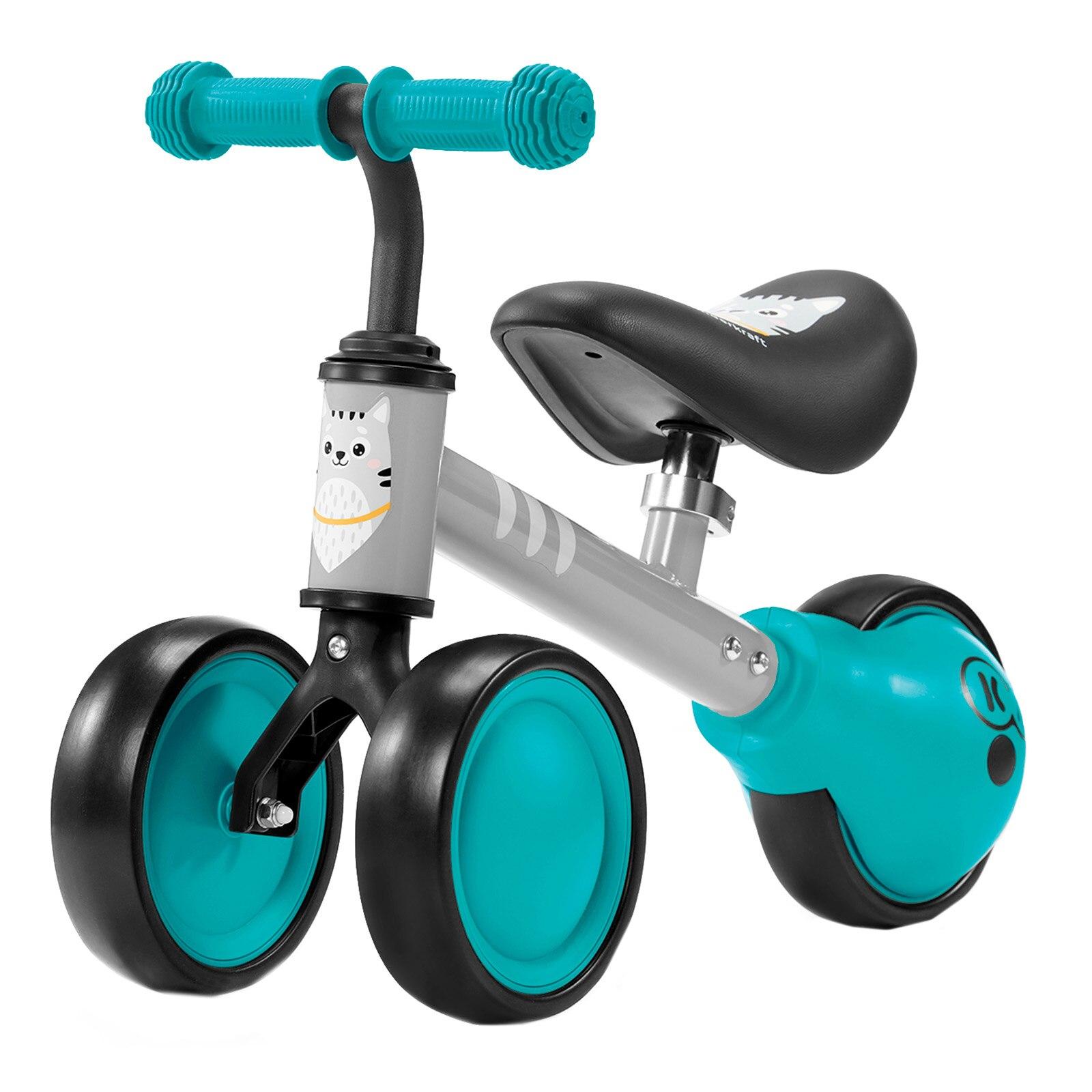 Fotografie Tricicleta fara pedale Kinderkraft - Cutie, turcoaz