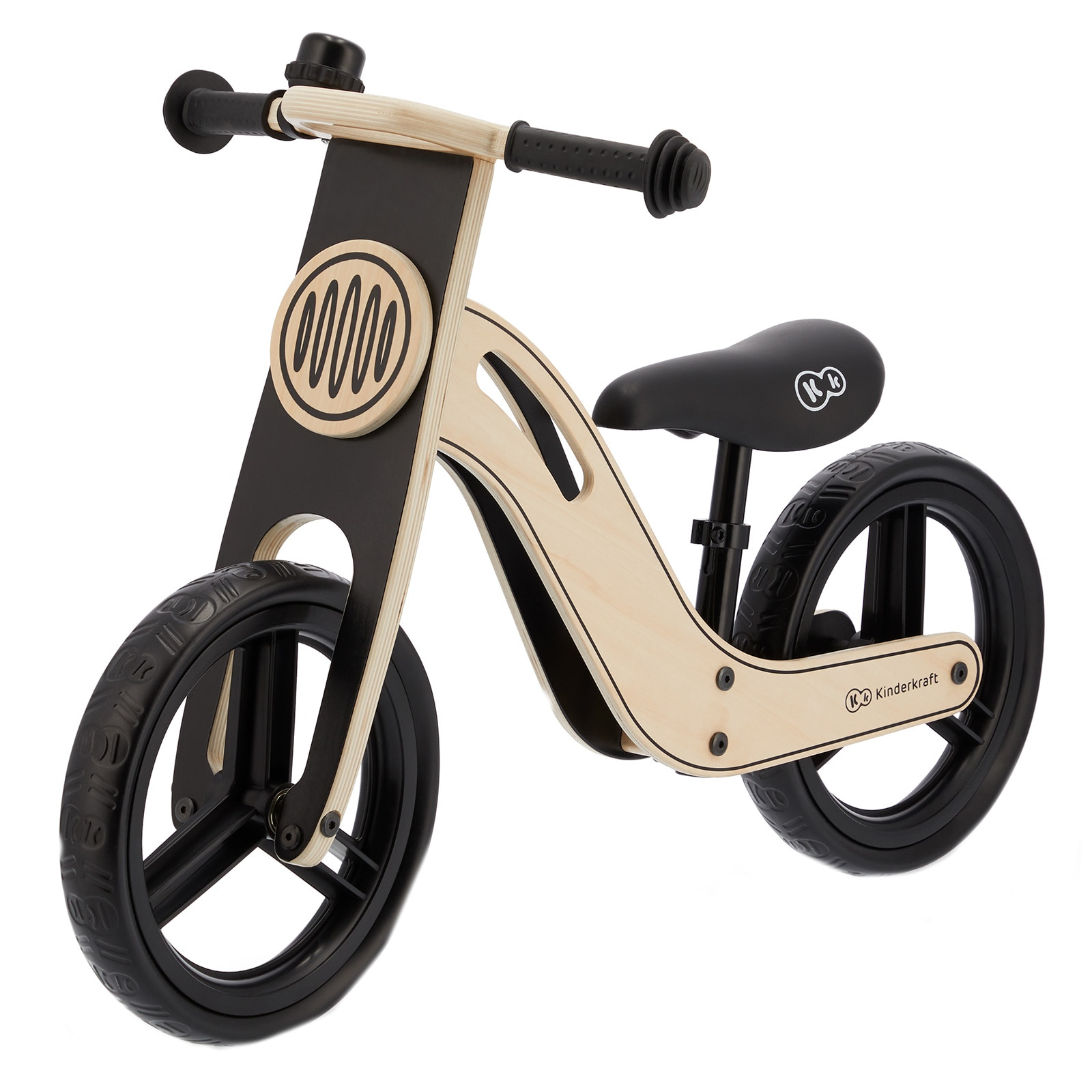 Fotografie Bicicleta din lemn fara pedale Kinderkraft - Uniq nature