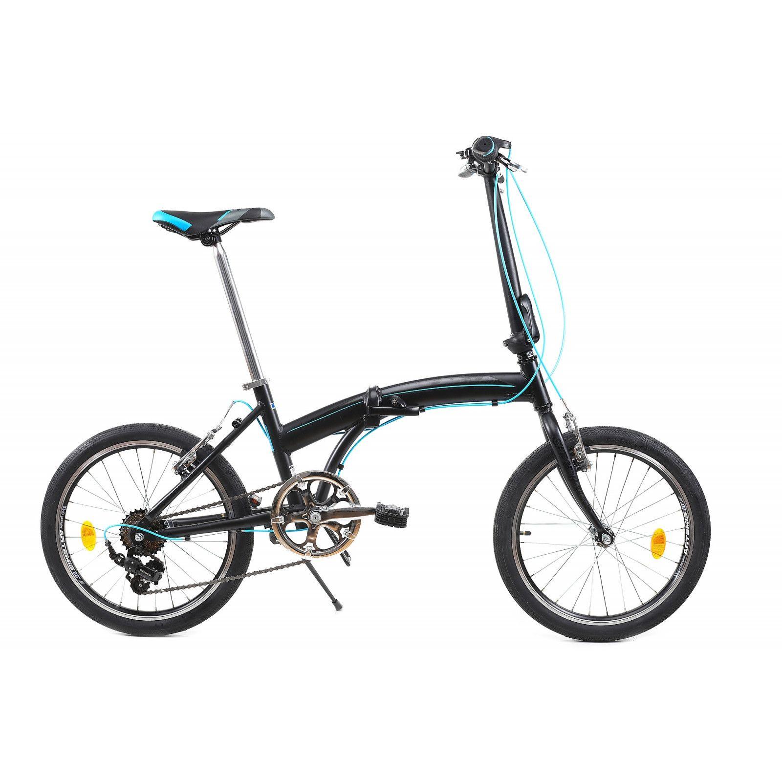 "Fotografie Bicicleta Pliabila Dhs 2095 Negru 20"""