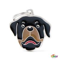 Медальон Rottweiler My Family, M