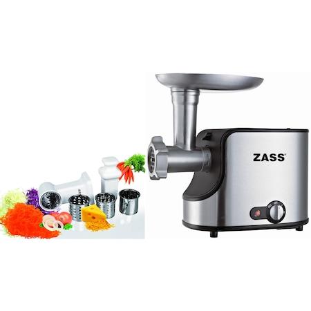Pachet masina de tocat Zass ZMG 06 cu accesoriu razatoare Zass ZVSA 01