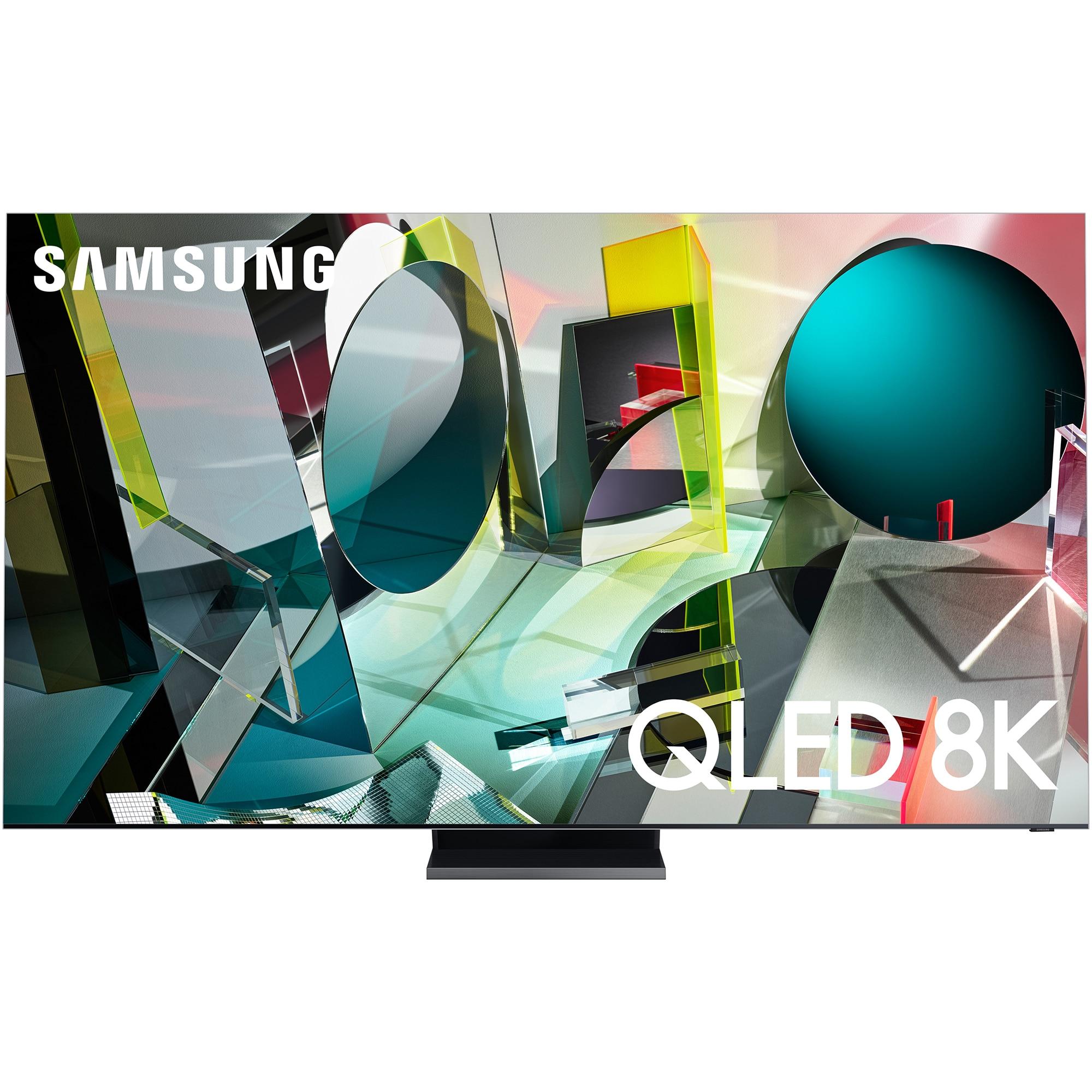 Fotografie Televizor Samsung 65Q950T, 163 cm, Smart, 8K Ultra HD, QLED, Clasa G
