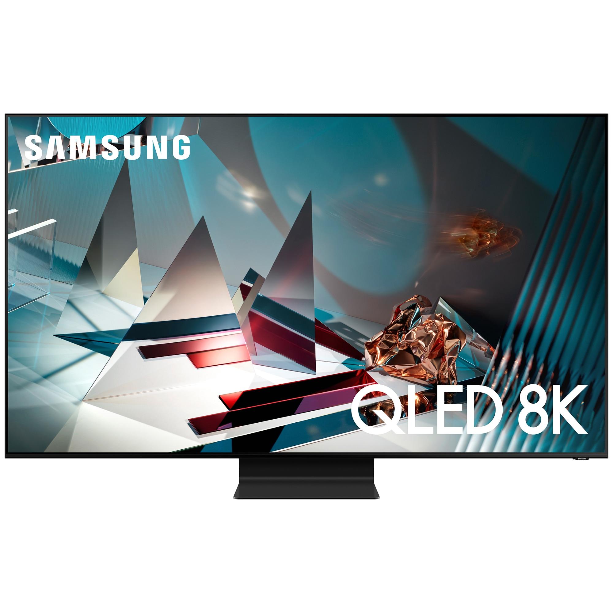 Fotografie Televizor Samsung 82Q800T, 207 cm, Smart, 8K Ultra HD, QLED, Clasa C