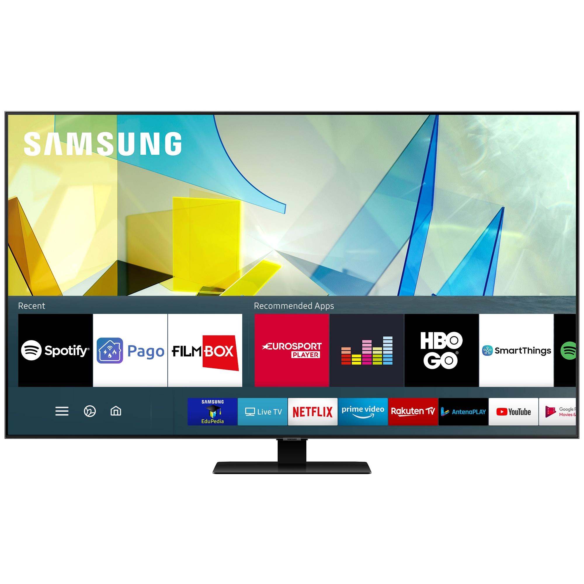 Fotografie Televizor Samsung 50Q80T, 125 cm, Smart, 4K Ultra HD, QLED, Clasa B