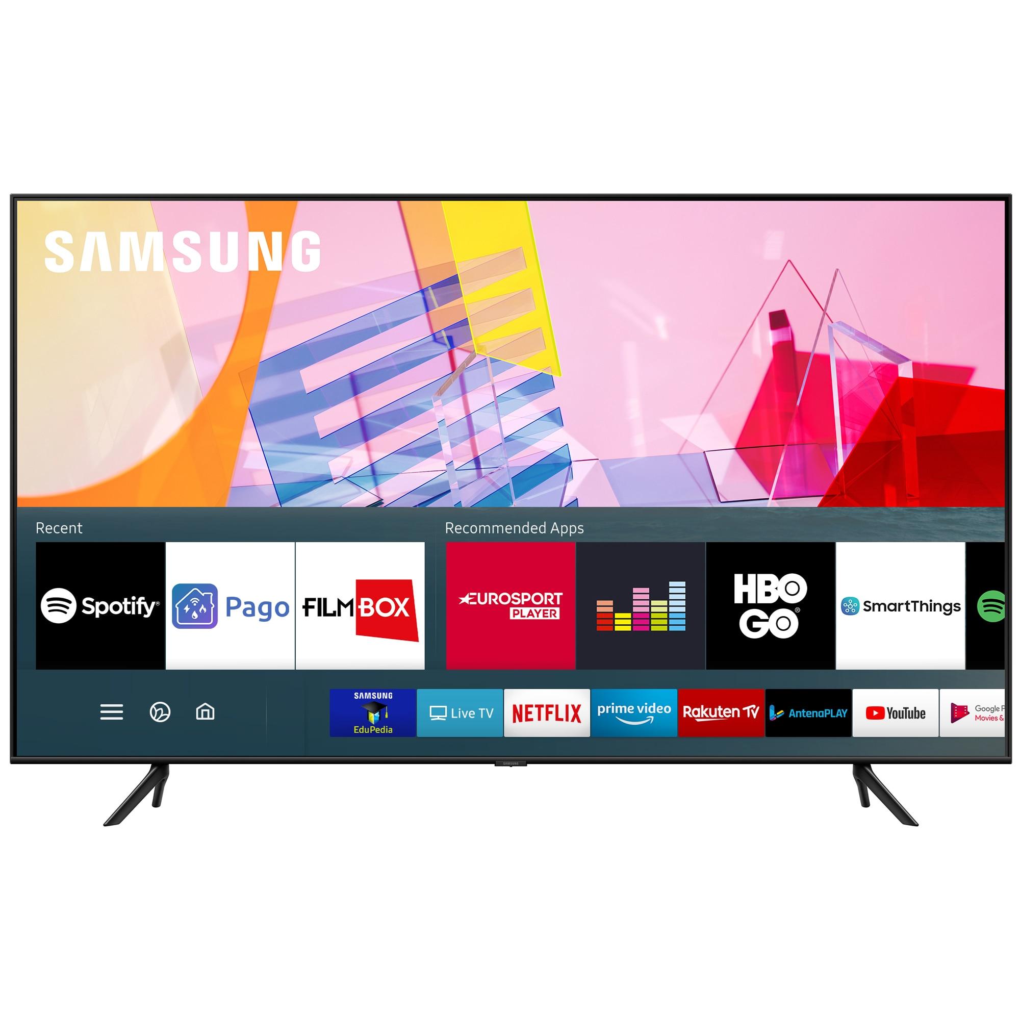 Fotografie Televizor Samsung 50Q60TA, 125cm, Smart, 4K Ultra HD, QLED, Clasa G