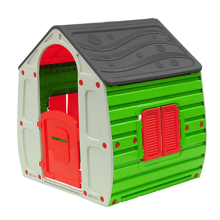 Fotografie Casuta de joaca pentru copii M-Toys Magic, gri / verde