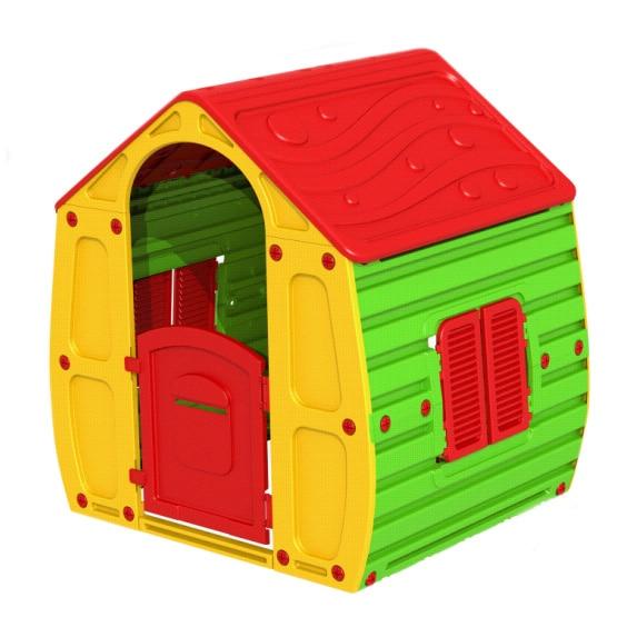 Fotografie Casuta de joaca pentru copii M-Toys Magic, rosu / verde