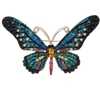 Brosa Felina C3, Pursehuit, Aliaj metalic, Multicolor