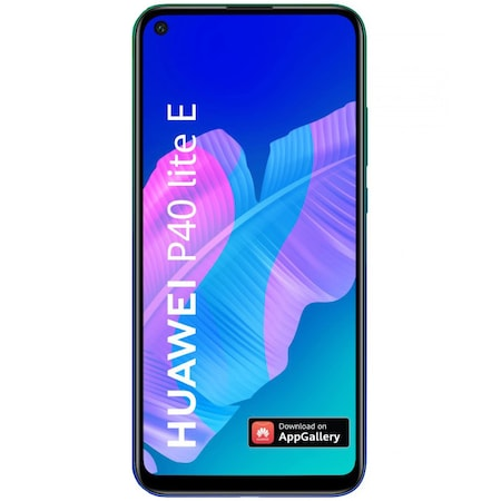 Telefon mobil Huawei P40 Lite E, Dual SIM, 64GB, 4G, Aurora Blue