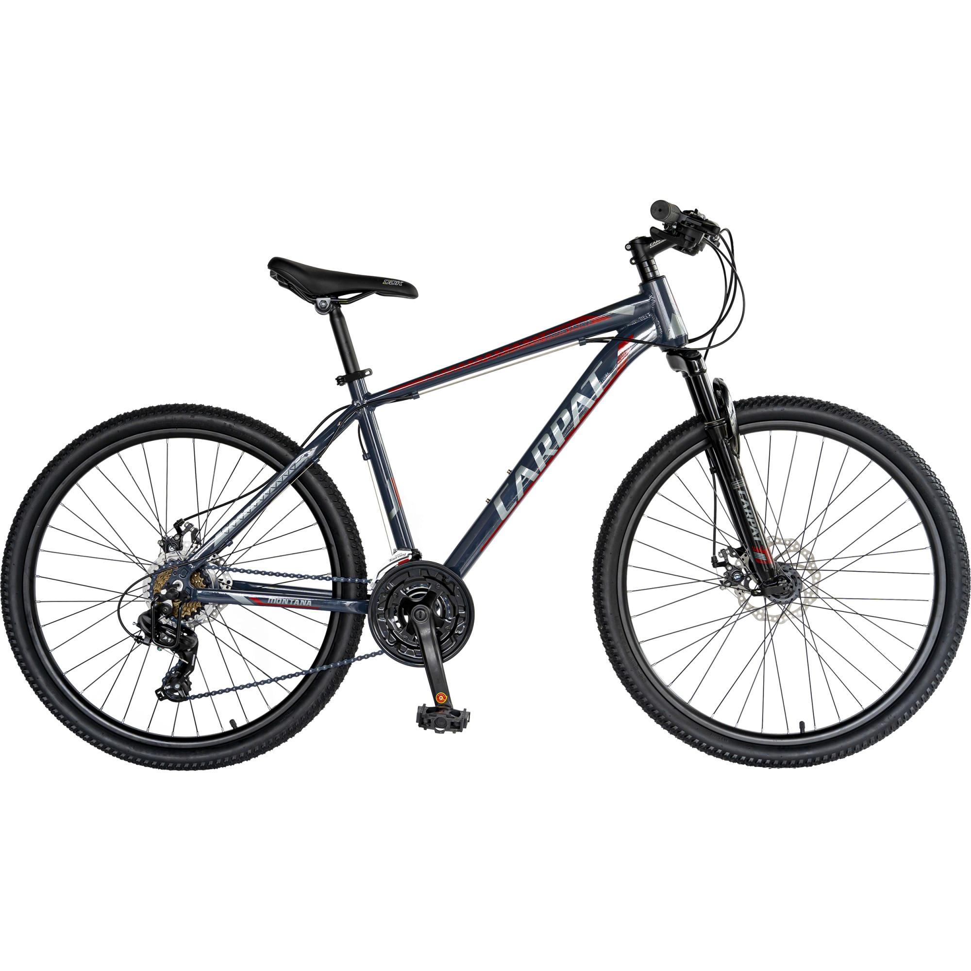 "Fotografie Bicicleta MTB 26"" Carpat C2670C, Gri/Rosu"