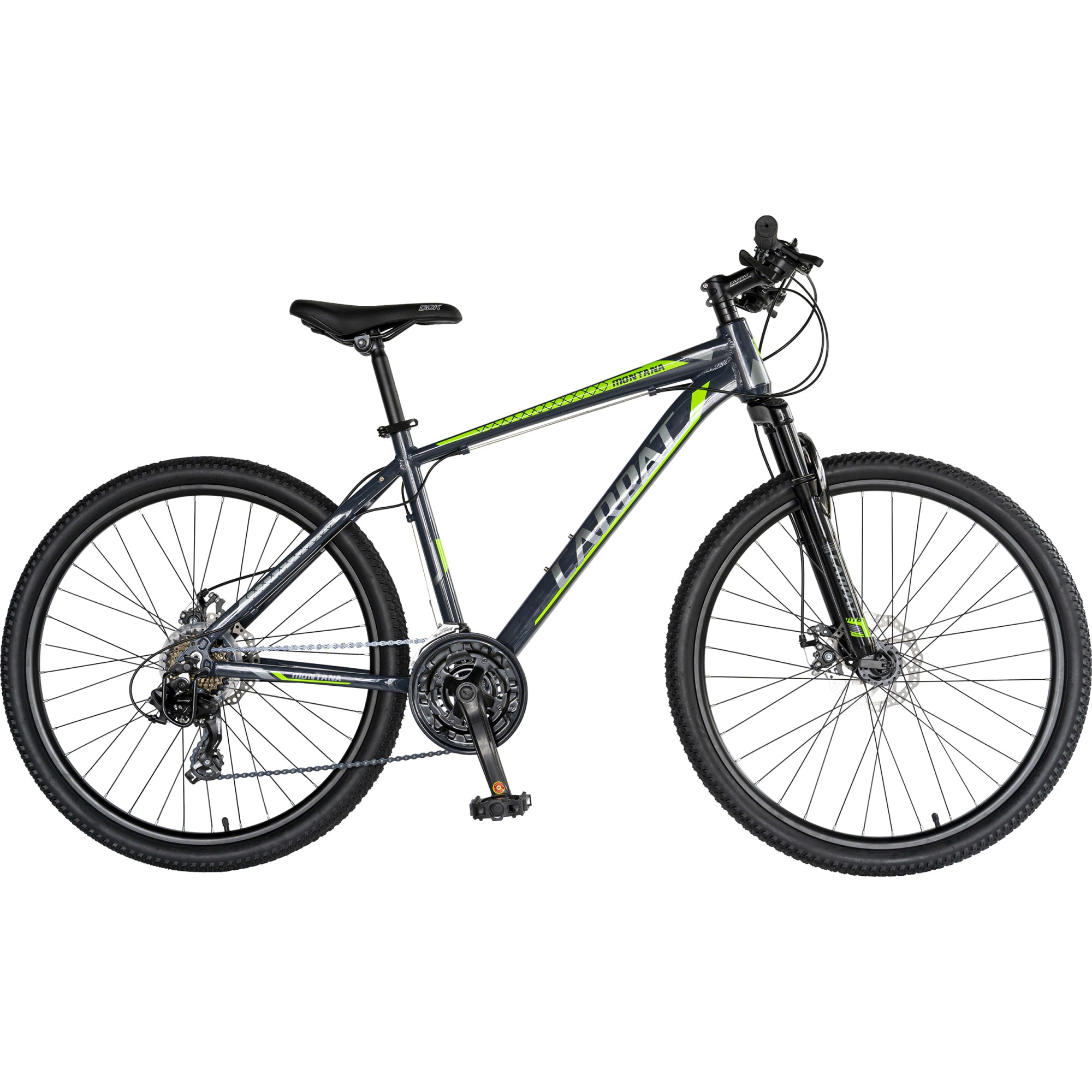 "Fotografie Bicicleta MTB 26"" Carpat C2670C, Gri/Verde"
