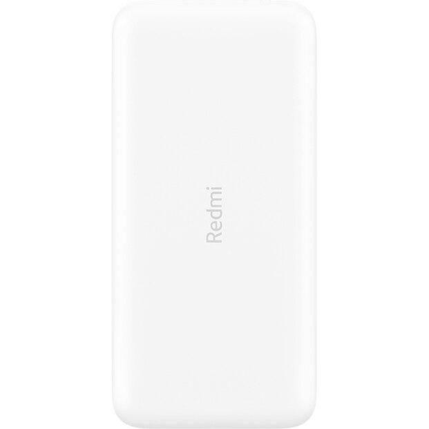 Fotografie Acumulator extern Xiaomi Redmi, Dual USB, MicroUSB/USB Type C, 10000 mAh, Alb