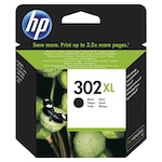 Мастило HP High Yield 302XL, F6U68AE, Черно