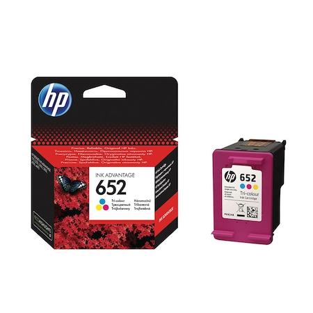 Cartus cerneala HP ink advantage 652, F6V24AE, Color