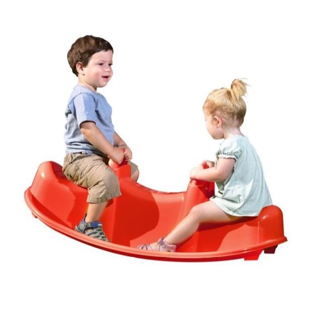 Balansoar Pentru Copii Pentru Interior Si Exterior 100x40x35 Cm Rosu Topi Toy Emag Ro
