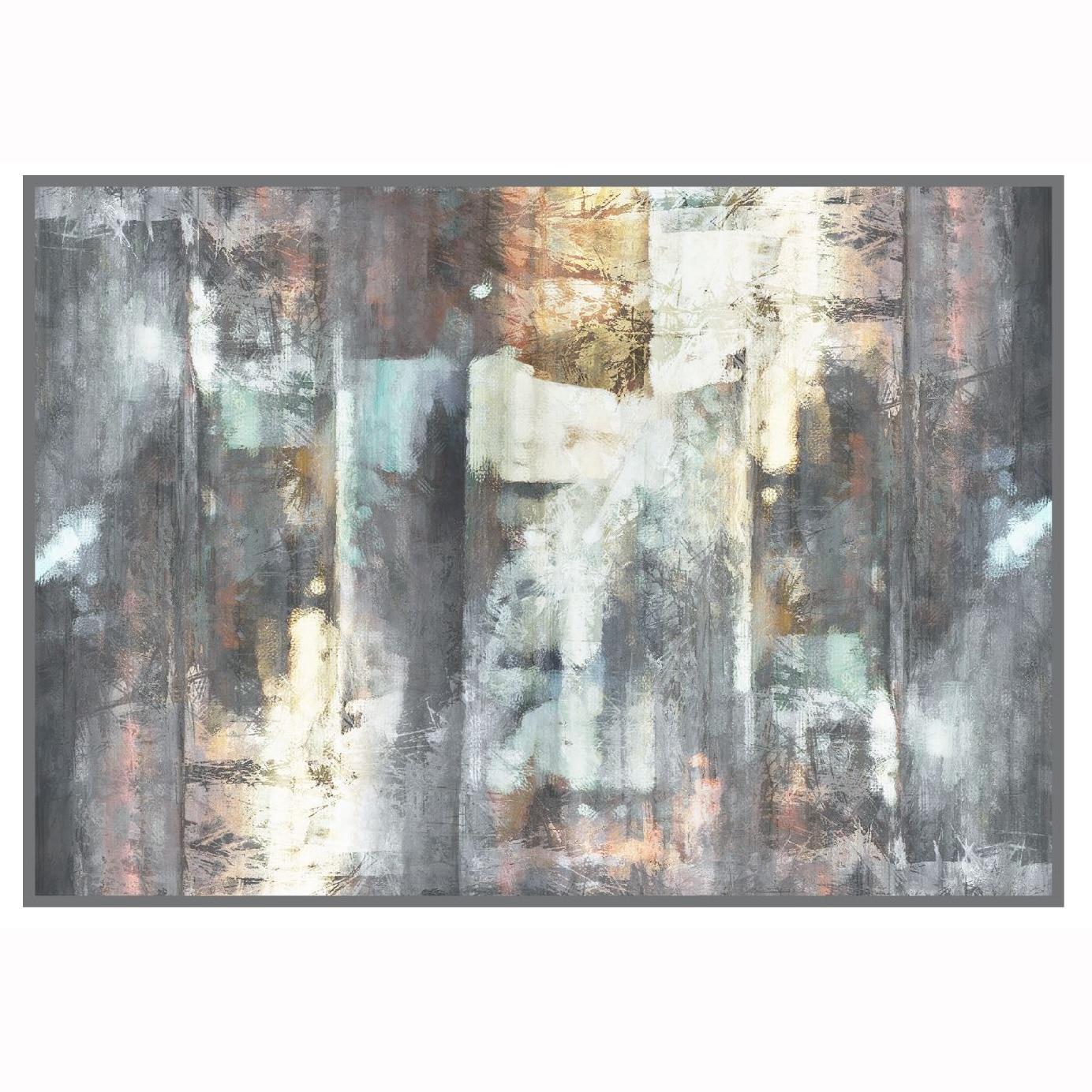 Fotografie Covor cu print digital Kring Bangalore, 160x230 cm, 100% bumbac, Multicolor