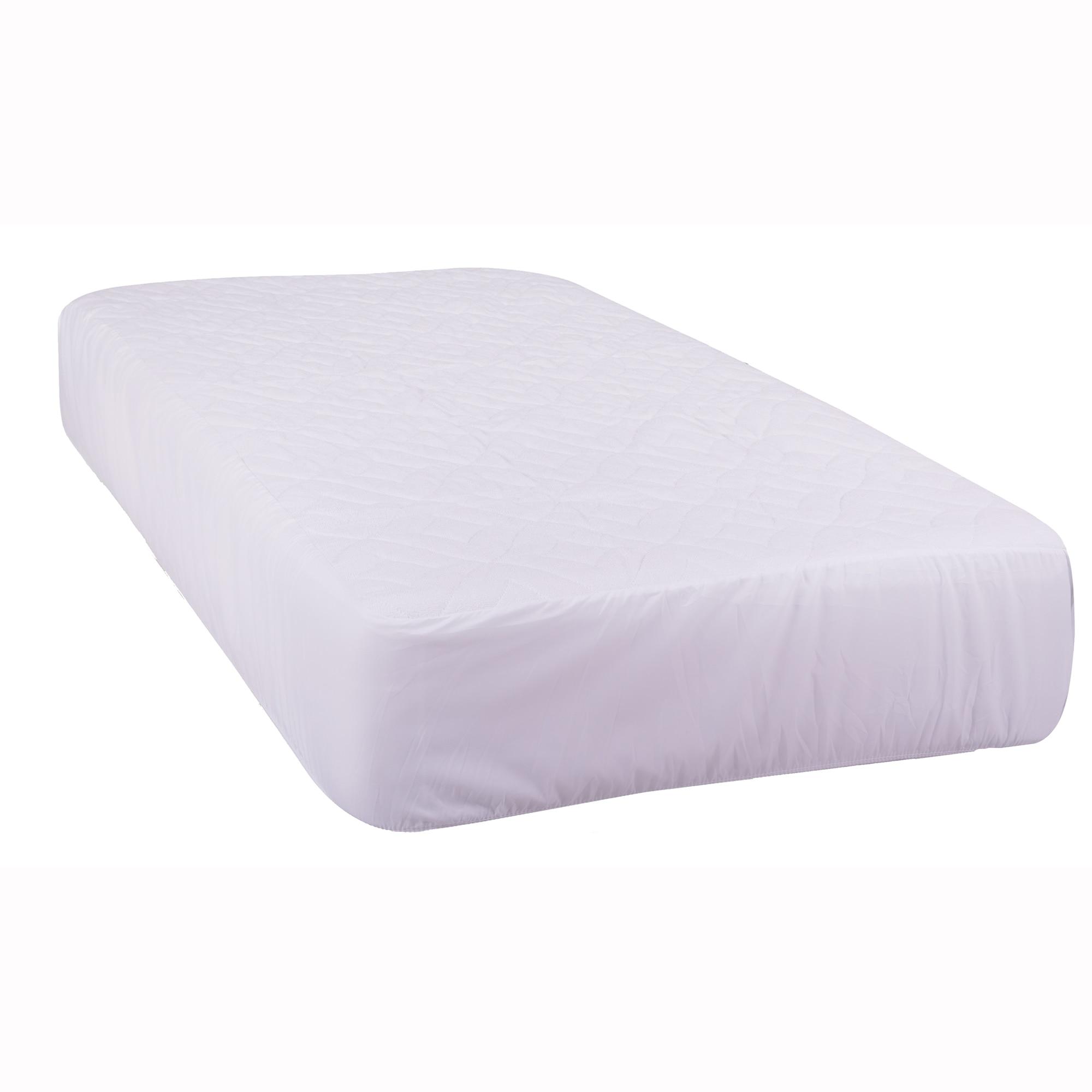 Fotografie Protectie saltea matlasata cu elastic Kring Zafir Rizo, impermeabila, 100% bumbac, cu baza PVC, cu umplutura de poliester 100 gr, 180x200 cm