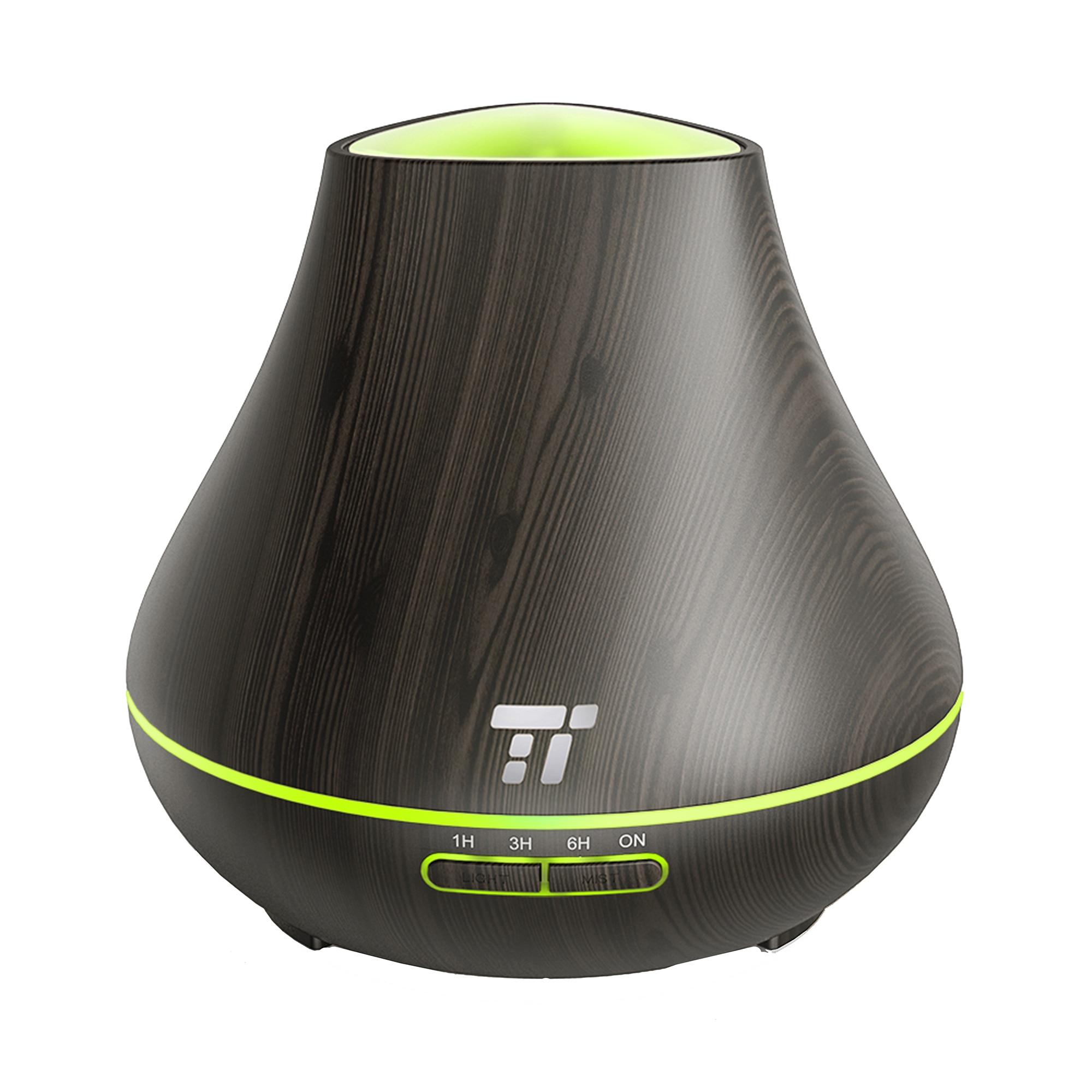 Fotografie Difuzor aroma TaoTronics TT-AD004, 13W, 400ml, Dark grain