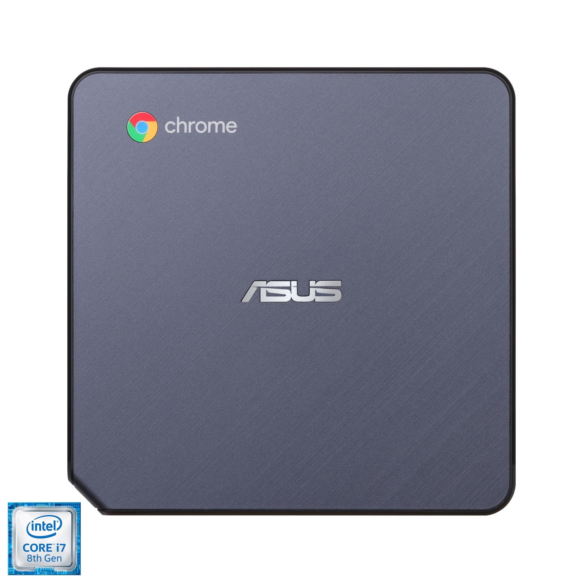 Fotografie Mini PC ASUS Chromebox cu procesor Intel® Core™ i7-8550U pana la 4.0GHz, 16GB DDR4, 128GB SSD, Intel® UHD Graphics 620, Chrome OS