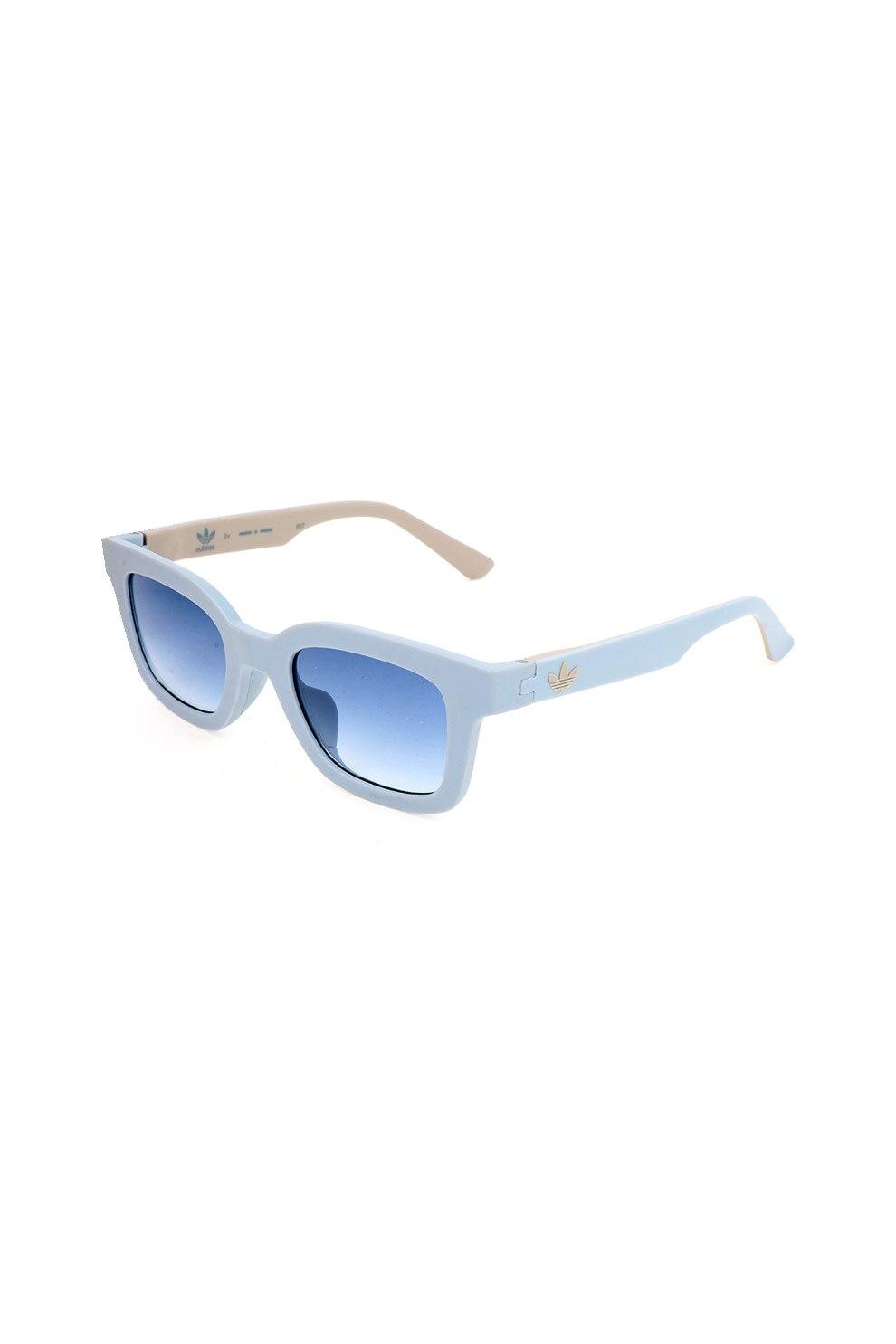 adidas ORIGINALS, Szögletes uniszex napszemüveg, Pasztellkék/Bézs, 48-22-145 Standard IX5X5c