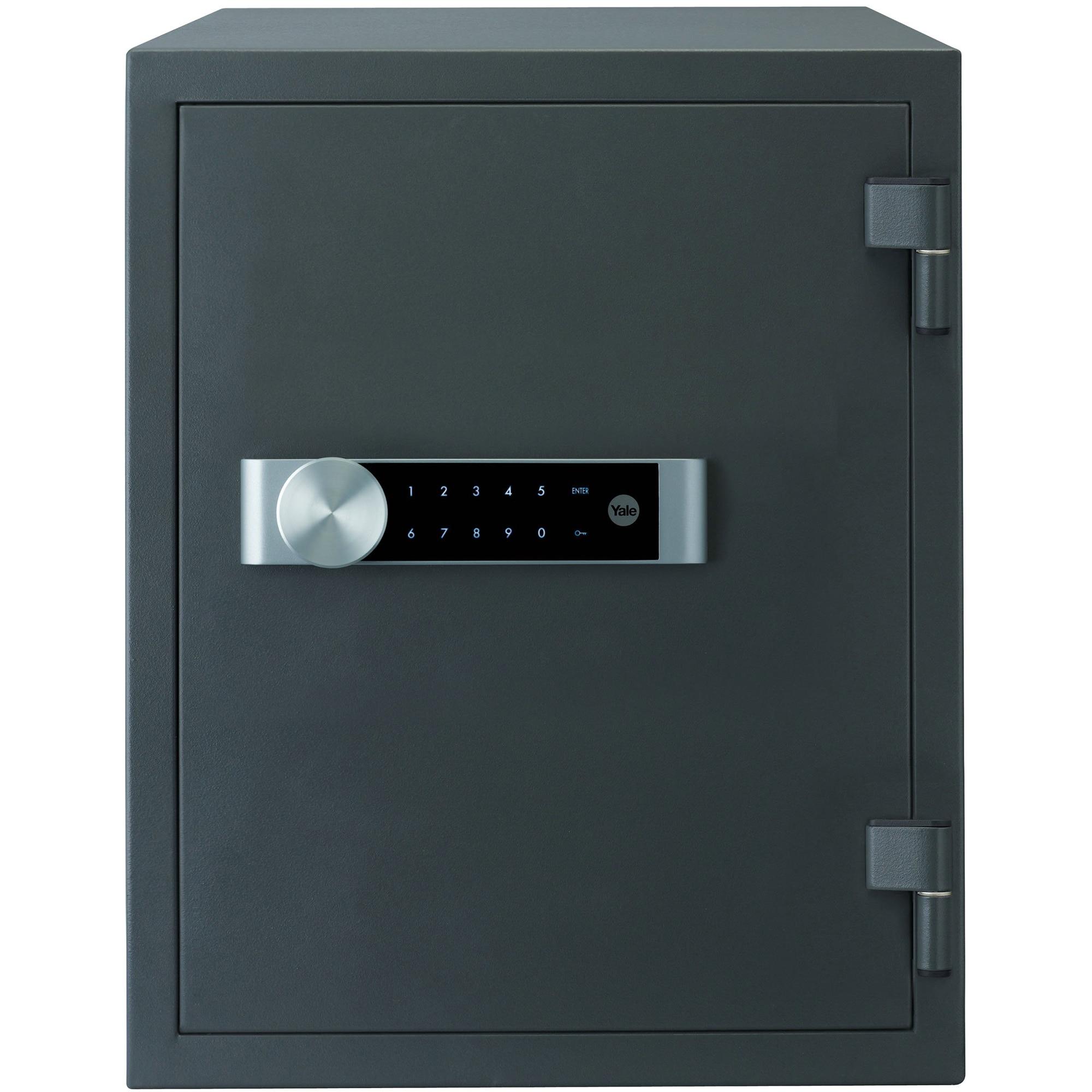 Fotografie Seif electronic cu cifru Yale Document Fire Safe Extra Large YFM/520/FG2/B, 522x404x440mm, Otel, Negru