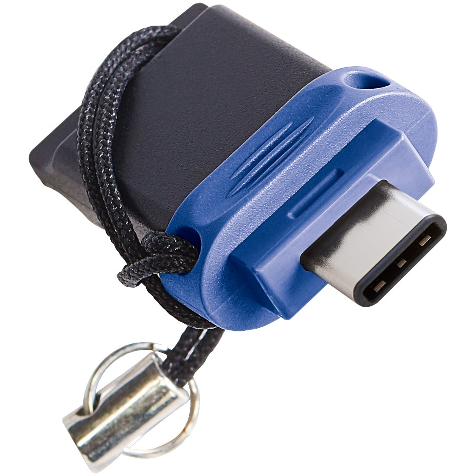 Fotografie Memorie USB Verbatim Store 'n' Go Dual Drive 64GB, USB 3.0 TypeA+C